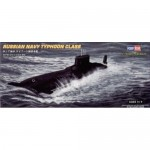 Submarine Model Kit - Hobby Boss Russian Typhoon Class Submarine Boat Model Building Kit