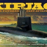 Submarine Model Kit - USS Skipjack - MOEBIUS MODELS 1/72